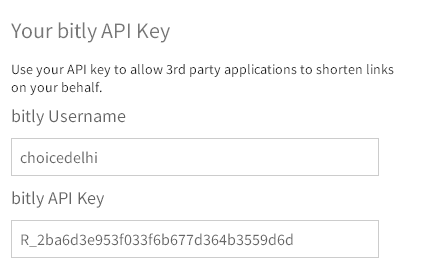 How to Get API Key For Your Bitly Account - Technology Notification